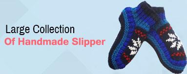 Handmade Woolen Slipper for Adult and Children