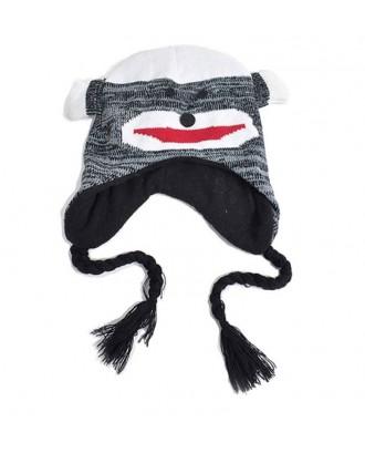 Woolen Handmade Kid Animal Hat